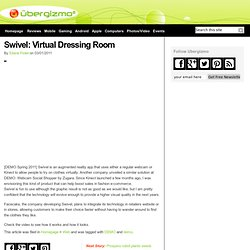 Swivel: Virtual Dressing Room