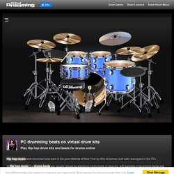 Drum kits for virtual drums beats