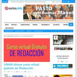 UNAM ofrece curso virtual gratuito de Redacción