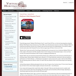 Virtual Heritage - Hadrian's Wall. Brunton Turret