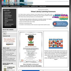 ESD Virtual Library Learning Commons