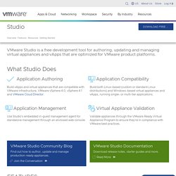 Studio -Virtual Machines - Virtualization - VMware