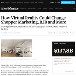 Virtual Reality Will Change Shopper Marketing, B2B and More