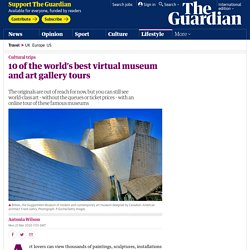 Virtual museum and art gallery tours