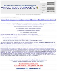 Virtual Music Composer 3