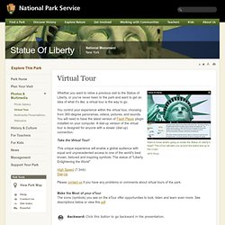 Virtual Tour - Statue Of Liberty National Monument