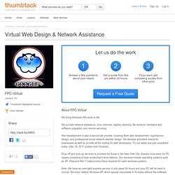 Virtual Web Design & Network Assistance - FPC-Virtual - Jamaica, NY