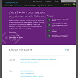 Virtual Network Documentation