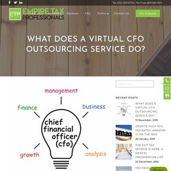 What Does A Virtual CFO Outsourcing Service Do?