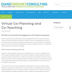Virtual Co-Planning and Co-Teaching > Diane Sweeney
