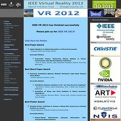 Virtual Reality 2012