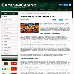 Virtual Reality Casinos and their future in iGaming