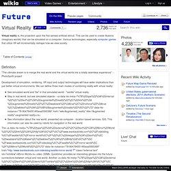 Virtual Reality - Future