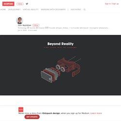 Virtual reality: Templates for UI design in VR – Kickpush design