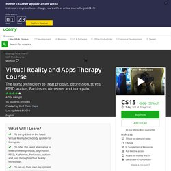 Virtual Reality and Apps Therapy Course
