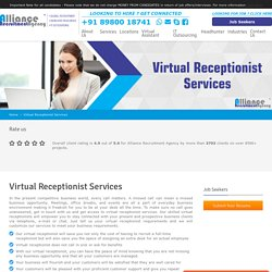 Virtual Receptionist Services - Best Virtual Receptionist for Hire
