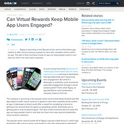 Can Virtual Rewards Keep Mobile App Users Engaged?: Tech News and Analysis «