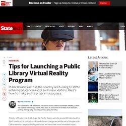 Virtual Reality and Public Library Tech - StateTech Magazine