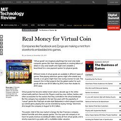 Real Money for Virtual Coin