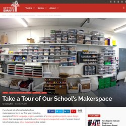 A Virtual Tour of Our School's Makerspace