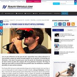 Virtual Boy - Le premier casque de réalité virtuelle disponible