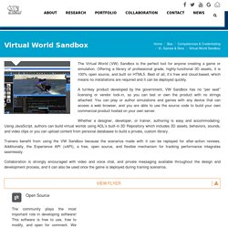 Virtual World Sandbox - ADL Net