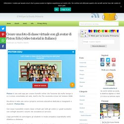 Creare una foto di classe virtuale con gli avatar di Pixton Edu (video tutorial in Italiano)