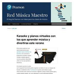 Karaoke y pianos virtuales con los que aprender música y divertirseRed Música Maestro