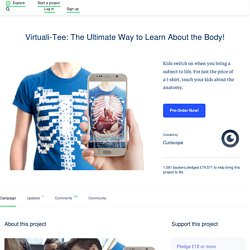 Virtuali-Tee: The Ultimate Way to Learn About the Body! by Curiscope