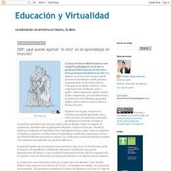 """ZDP: ¿qué puede aportar """"el otro"""" en el aprendizaje en Internet?"""