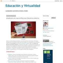 Añadiendo una capa de Recursos Educativos Abiertos
