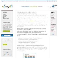 Virtualisation, sécurité et antivirus