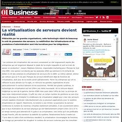 La virtualisation de serveurs devient réalité