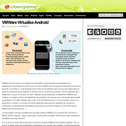 VMWare Virtualise Android