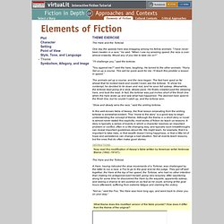 virtuaLit Fiction: Elements of Fiction