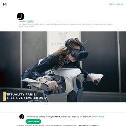 On vous raconte & vous emmène revivre en images le salon de la #VR #Virtuality2017 ! Par ici □➡️ @Vir…