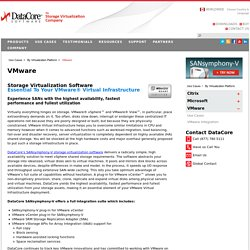 Storage and Server Virtualization from DataCore and VMware