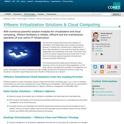 VMware Virtualization Solutions & Cloud Computing