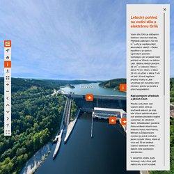 Virtuální prohlídka ČEZ - Vodní elektrárna Orlík