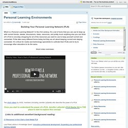 virtualschoollibrary / Personal Learning Environments