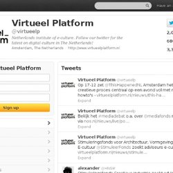 Virtueel Platform (virtueelp) on Twitter