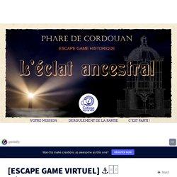 [ESCAPE GAME VIRTUEL] ⚓□✨ L'éclat Ancestral by Cobogo - Jeux de piste on Genially