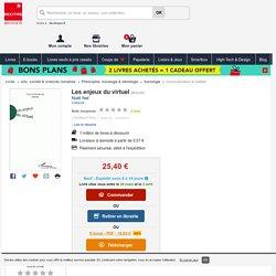 Les enjeux du virtuel. Noël Nel - Decitre - 9782747508438
