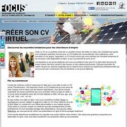 Créer son CV virtuel