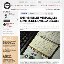 Entre réel et virtuel, les limites de la vie… à l'école » Article » OWNI, Digital Journalism