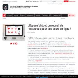 L'Espace Virtuel, un recueil de ressources pour des cours en ligne !