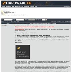 Réseau privé virtuel sous Windows - OpenVPN - Tutoriels. - Tutoriels - Réseaux grand public / SoHo