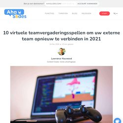 10 virtuele teamvergaderingsgames om uw externe team opnieuw te verbinden in 2021 - AhaSlides