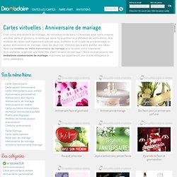 Carte virtuelle Anniversaire de mariage gratuite