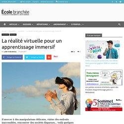 La réalité virtuelle pour un apprentissage immersif - École branchée